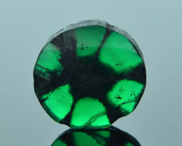 AIG Certified AAA Grade 1.50 ct Colombian Trapiche Emerald SKU-31