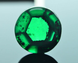 AIG Certified AAA Grade 4.54 ct Colombian Trapiche Emerald SKU-31