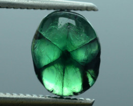 AIG Certified AAA Grade 2.89 ct Colombian Trapiche Emerald SKU-30
