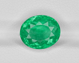 Emerald, 3.34ct - Mined in Colombia | Certified by GRS