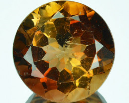 13.49 Cts Natural South American Champagne Topaz 14mm Round Brazil