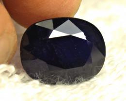 19.69 Carat Midnight Blue Sapphire - Gorgeous