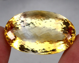 97.54 ct. 100% Natural Unheated Top Yellow Golden Citrine Brazil