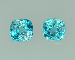 3.76 Cts Gorgeous Lustrous Cambodian Blue Zircon