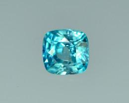2.11 Cts Stunning Lustrous Cambodian Blue Zircon