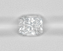 Colorless Sapphire, 4.10ct - Mined in Sri Lanka | Certified by GIA