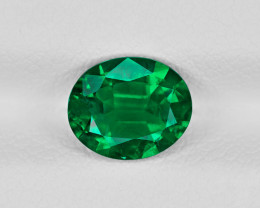 Emerald, 1.17ct - Mined in Zambia | Certified by GIA