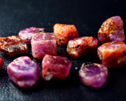 82.35 Ct Unheated ~ Natural Ruby Rough Lot