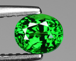 0.74 Ct Tsavorite Garnet Sparkling Luster Gemstone TS 03