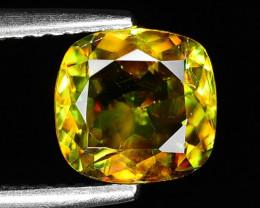1.48 Ct Natural Sphene Sparkiling Luster Gemstone. SN 18
