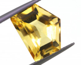 6CTS-GOLDEN YELLOW CITRINE FANCY CUT-GB24