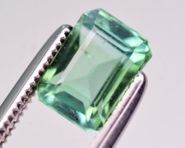 Brilliant Color 1.60 Ct Natural Tourmaline. RA