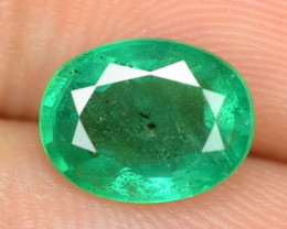 1.62 Cts Natural Earth Mined Green Color Colombian Emerald Loose Gemstone