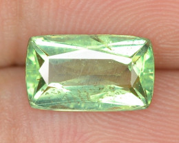 1.56 CTS UNHEATED GREEN COLOR  NATURAL  APATITE LOOSE GEMSTONE