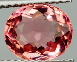 2.00 CT Padparadscha Color !! Congo Tourmaline Untreated -PT49