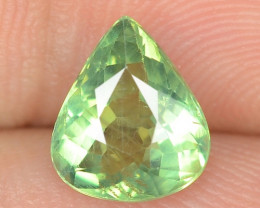 1.62 CTS UNHEATED GREEN COLOR  NATURAL  APATITE LOOSE GEMSTONE