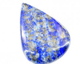 Genuine 119.00 Cts Lapis Lazuli Pear Shape Cab
