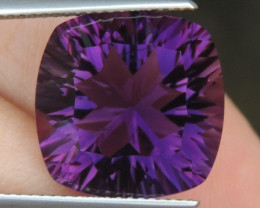 11.49cts, Amethyst,  Top Cut, Clean, Untreated,