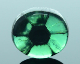 AIG Certified AAA Grade 2.98 ct Colombian Trapiche Emerald SKU-30
