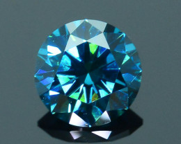 AIG Certified Electric Blue 0.52 ct SI1 Clarity Diamond SKU-12