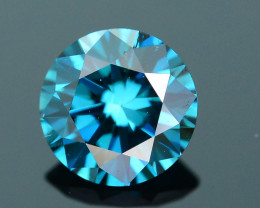 AIG Certified Electric Blue 0.52 ct SI2 Clarity Diamond SKU-12