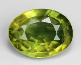 1.17 Ct Yellow Sapphire Top Quality  Gemstone. YS 03