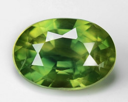 0.85 Ct Yellow Sapphire Top Quality  Gemstone. YS 06