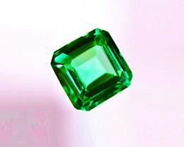 1.52 ct Top Zambian Emerald Certified!