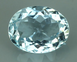 1.95 CTS FANTASTIC HUGE AWESOME  NATURAL OVAL AQUAMARINE!!