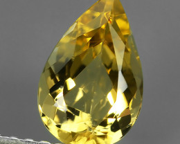 1.35 CTS GENUINE NATURAL RARE TOP-YELLOW-PRECIOUS- IMPERIAL-TOPAZ