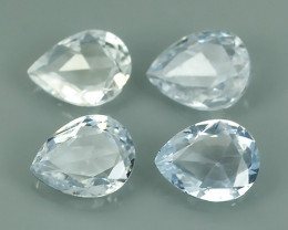 1.15 CTS BEST QUALITY~TOP WHITE EXTREME WONDER LUSTROUS GENUINE SAPPHIRE