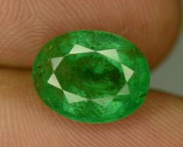 2.50 CT NATURAL GREEN ZAMBIAN EMERALD