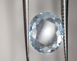 Aquamarine Gemstone Oval 1.9CTS