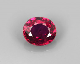 .77CT SUPERB BRIGHT COLOR 100% NATURAL UNHEATED RUBY