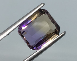 3.04 Carat VVS Ametrine Unheated Bolivia Beautiful Cut and Polish !
