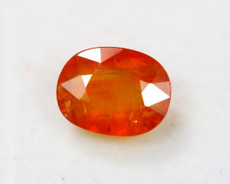4.98Ct Orange Sapphire Oval Cut Lot LZ3056