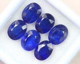 11.94Ct Blue Sapphire Oval Cut Lot LZ2552