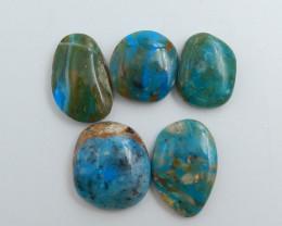 High Quality Blue Opal Gemstone Cabochons Designer Making C756