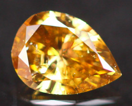 0.25Ct Fancy Orange Brown Natural Diamond A0304