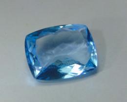 11.65cts MARVELOUS  NATURAL ELONGATED blue TOPAZ