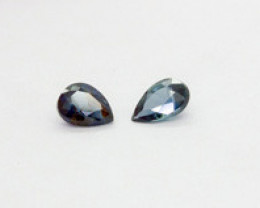 0.100Ct Natural Coloured Australian Sapphire