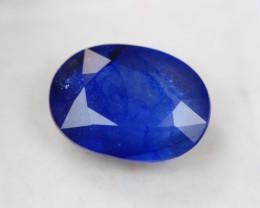 7.79Ct Blue Sapphire Oval Cut Lot LZ2559