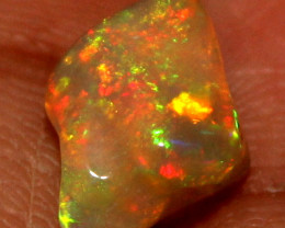 2.80 Crt Natural Ethiopian FreeForm Welo Fire Opal Carvin 720