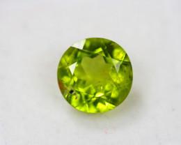 3.71Ct Green Peridot Round Cut Lot B623