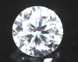 2.40mm G/VS Natural Round Brilliant Cut White Diamond B0505