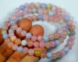 155.0 Ct Natural Pink Beryl Necklace