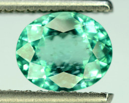Great Luster 2.10 ct Neon Green Color Perfect Cut Apatite Gemstone