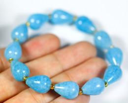 122.0Ct Natural Aquamarine Bracelet