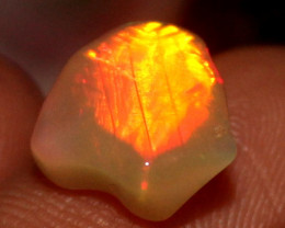 2.50 Crt Natural Ethiopian FreeForm Welo Fire Opal Carvin 789