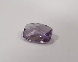 Eye clean 4.5 carat Cushion Amethyst natural gem #G0070